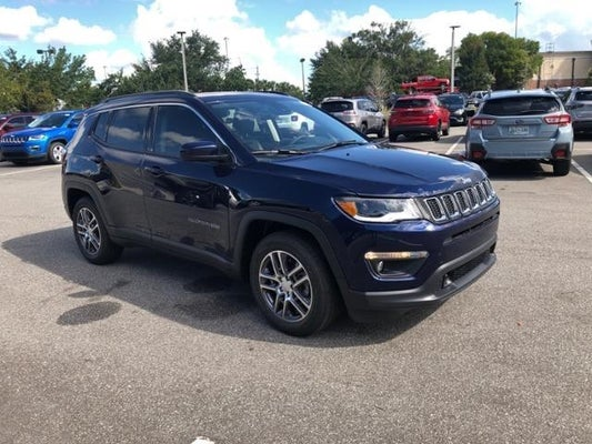 2020 Jeep Compass Latitude W Sun Safety Pkg Fwd New Smyrna Fl Serving Orlando Deland Deltona Florida 3c4njcbb8lt252699